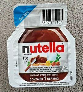 NUTELLA Spread BB 24/05/22 Ferrero 25 X 15g Individual Portions Mini Packs NEW