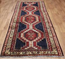 OLD WOOL HAND MADE PERSIAN ORIENTAL FLORAL RUNNER AREA RUG CARPET 287 X 120 CM