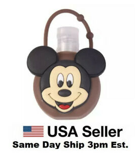 Silicone Bottle Holder Carrying Case 1oz Hand Sanitation Mickey Mouse Cartoon