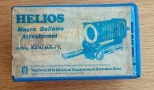 Helios Macro Bellows Attachment Pentax PK Fitting
