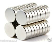 50pcs 7  X 2 mm Neodymium Disc Super Strong Rare Earth N35 Small Fridge Magnets