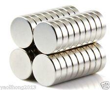 50pcs 12mm X 3mm Neodymium Disc Super Strong Rare Earth N50 Small Fridge Magnets