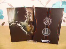 Call of Duty: Black Ops 2-Xbox 360-Metal Estuche + Insignias