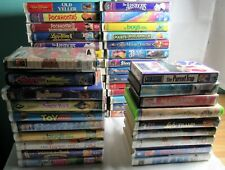 Kids VHS LOT Disney & Others  ( 40+ Tapes)