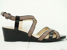 Neuwertig! GEOX Respira ♫ Damen Keilabsatz Sandale Gr. 39 Leder Woman Shoes