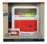 NEW Fisher-Price Classics Play Retro Cassette Tape Recorder - FREE AND FAST SHIP