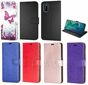 For Oppo A72 Phone Case Leather Flip Case Shockproof Gel Stand Wallet Book Cover