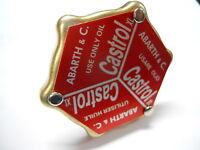 Tappo olio motore Castrol per coperchio punterie ABARTH per FIAT 500 126
