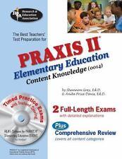 PRAXIS Teacher Certification Test Prep: PRAXIS II Elementary Education :...