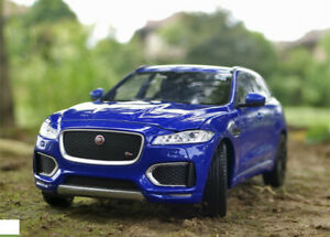 WELLY 1:24 JAGUAR F-PACE SUV Alloy Static Alloy Car Model Men Gift  (no box)For
