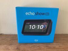 Amazon Echo Show 5  2nd Gen Smart Speaker Alexa - 2021 Model -Charcoal  NEW