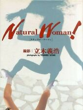 YOSHIHIRO TATSUKI Photo book NATURAL WOMAN  1994 Japan very good