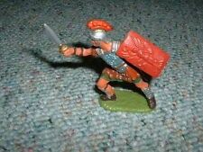 Elastolin 70mm Roman lunging with sword  XX