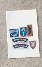 1/6 scale Dragon style Rhodesian SAS/Special forces Selous Scouts patches