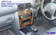 Audi A3 8L WALNUT WOOD DASH KIT - REAL WOOD - MADE IN GERMANY