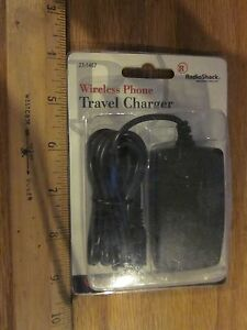 Radio Shack 23-1467 Wireless Phone Travel Charger with free shipping!