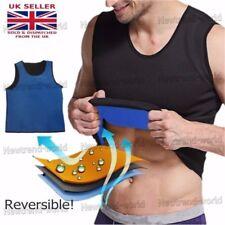 Men Body Slimming Suit Lose Weight Sport Vest Gym Tank Top Neoprene Ultra Sweat