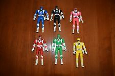 Vintage 1993 Bandai Mighty Morphin Power Rangers FLIP HEAD Lot 6 Action Figures
