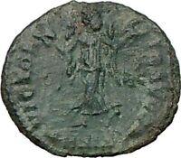 CONSTANS Constantine I son 347AD Scarce Ancient Roman Coin Victory Nike  i22260