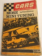 MORE BMC MINI TUNING +MIDGET race tune mods manual by Clive Trickey Speed Sport