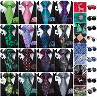 Silk Mens Tie Burgundy Red Green Blue Black Gold Solid Striped Neckties Jacquard