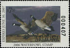 ARIZONA #20 2006 STATE DUCK CANADA GOOSE by Tom Finley