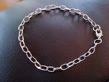 Silver Charm Bracelets-Link Bracelet-Bracelets-Wholesale Bracelets-10pcs