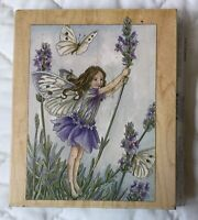 Lavender Fairy Rubber Stamps Happen 1998 Cicely Mary Barker Flower Fairies 90021