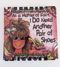 Suzy Toronto Magnet Another Pair of Shoes 3 inch x 3 inch New For the Shoe Lover