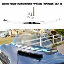 Stainless Steel Windshield Trim For Harley Electra Street Glide Touring 2014-19