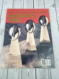 Official 1989 Yearbook of the World Champion SAN FRANCISCO 49ers ~ Montana Rice