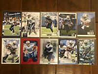 Delanie Walker - Tennessee Titans - 10 Football Card Lot - No Duplicates