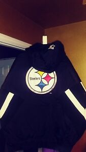 Vintage Pittsburgh Steelers Throwback Pullover Starter Jacket XL New! NFL