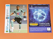 LIEDSON  SPORTING PORTUGAL FOOTBALL CARDS PANINI CHAMPIONS LEAGUE 2007-2008