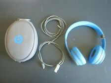 USED Beats by Dr. Dre Solo2 Over-ear Wireless Headphones Blue B0534