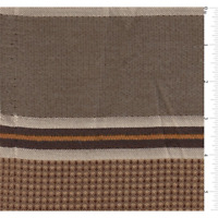 Cocoa Brown Stripe Home Decorating Fabric, Fabric By The Yard