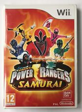 Power Rangers Samurai for Nintendo Wii Complete Age 12 PAL *great Game*