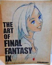 New listing The Art Of Final Fantasy Ix Soft-Back Book Colorful Illustrations Squaresoft