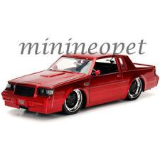 JADA 30343 BIGTIME KUSTOMS 1987 BUICK GRAND NATIONAL 1/24 DIECAST MODEL CAR RED