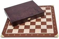SQUARE - Pro Wooden Chess Set No. 5 - FRANCE LUX - Chessboard & Chess Pieces