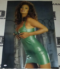 Tera Patrick Signed 20x30 Photo PSA/DNA COA Picture Poster Hustler Penthouse 29