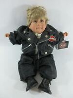 "Harley Davidson Born To Ride 22"" Boy Doll Biker Motorcycle"
