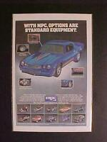 VINTAGE ~CUSTOM RACE CARS TRUCKS MPC PLASTIC TOY MODEL KITS ART PRINT AD 1981