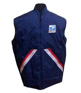 USPS Letter Carrier Insulated Postal Vest Sz L NWOT