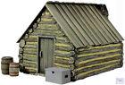 B51040 W.Britain American Civil War Winter Hut 2 4 Piece Set