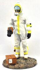 "Firefighter Figurine Fireman Ray Unit French 2003 Lead Del Prado 1/32 2.75"". B59"