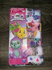 Hatchimals ~ Girl's Panties Hipster Handcrafts 7-Pair Underwear ~ Size 8