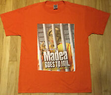 Tyler Perry Madea Goes to Jail movie promo t shirt L orange funny comedy