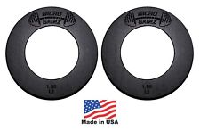 Micro Gainz Pair of 1LB of Olympic Fractional Weight Plates, Made in USA