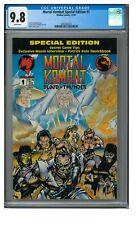 Mortal Kombat Special Edition #1 (1994) Malibu Comics CGC 9.8 White Pages T523